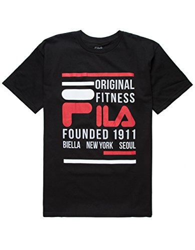 Fila Original Fitness T-Shirt Black 2XL