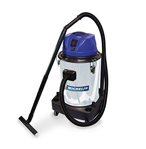Michelin CA-VCX50PEINOX - Aspirador para sólidos y líquidos 50 lt. Tanque Metal. TELECOMANDADO