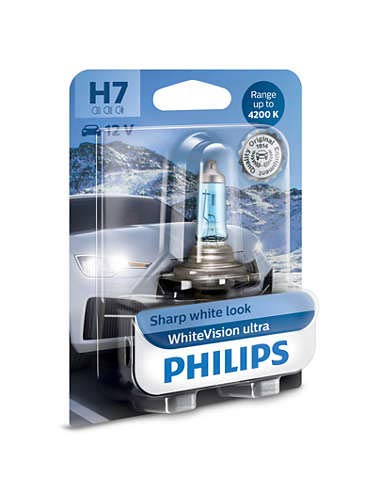 Philips H7 12972 Diamond Vision Headlight Bulb (12V, 55W)
