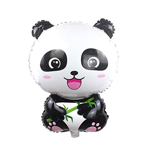Toyvian 10 Stücke Panda Luftballons Folienballons für Kinder Geburtstag Partydekorationen