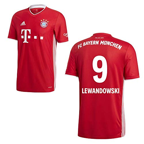 adidas FCB FC Bayern München Trikot Home Heimtrikot 2020 2021 Kinder Lewandowski 9 Gr 140