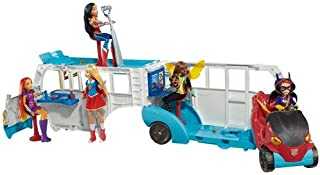 DC Super Hero Girls School Bus Vehicle