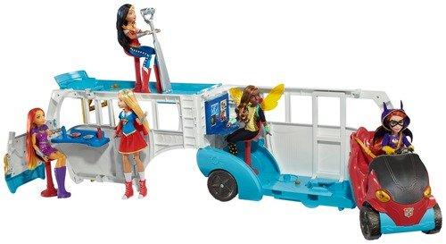DC Super Hero Girls Transforming School Bus