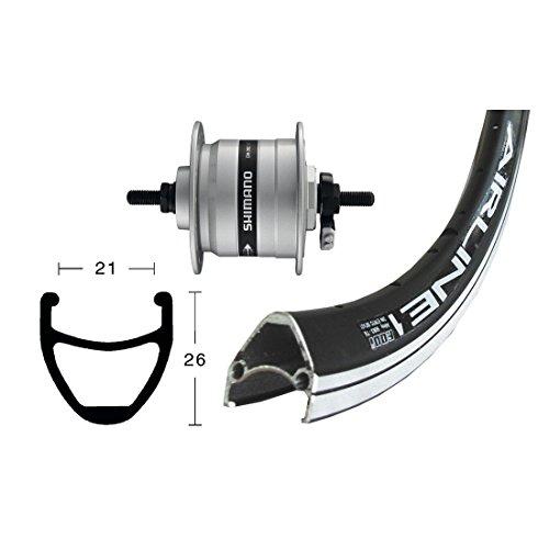 Bike-Parts 28´´ Vorderrad Rodi Airline 1 + Nabendynamo Shimano DH-C3003