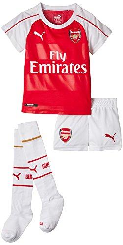 PUMA AFC Home Miniki Arsenal Maillot Garçon TBC FR : 4 Ans (Taille Fabricant : 104)