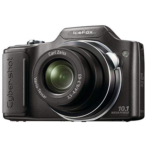 iceFox DSC-H20 Digitalkamera (10 Megapixel, 10-fach opt. Zoom, 7,6 cm