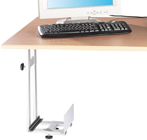 General Office PC Halter: Platzsparende PC-Halterung für Untertisch-Montage (Computer Aufhängung)