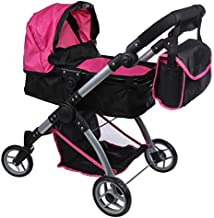 Mommy & Me Deluxe Extra Tall 2 in 1 Doll Stroller Handle 28