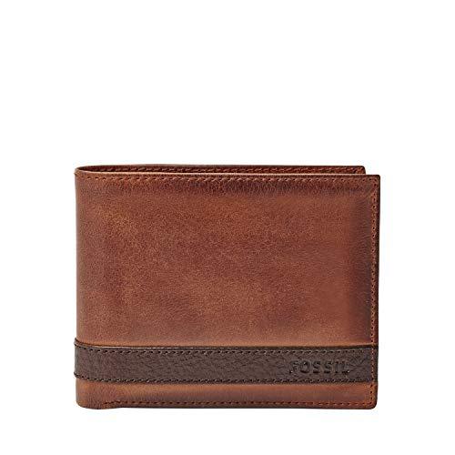 Fossil Men's Quinn Passcase Leather Wallet