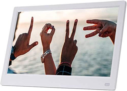 ZHFF Marco de Fotos Digital de 11,6 Pulgadas - 1920 * 1080 Pantalla IPS Completa de Alta resolución Reproductor de Fotos/música/Video - Soporte USB y Tarjeta SD, Álbum electrónico de Regalo HD