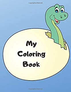 My Coloring Book: Coloring book for children | For girls and boys | From 18 months | Color animals, characters ... | 70 co...