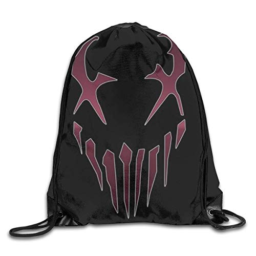 Lawenp Mushroomhead Drawstring Backpack Beam Mouth Gym Sack