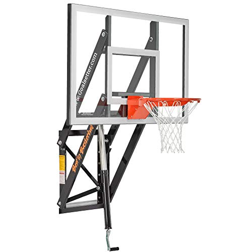 Goalsetter Wall Mounted Height Adjustable Basketball System (72 – Inch)