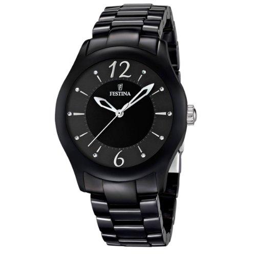Festina Unisex Analog Quarz Uhr mit Keramik Armband F16638/2
