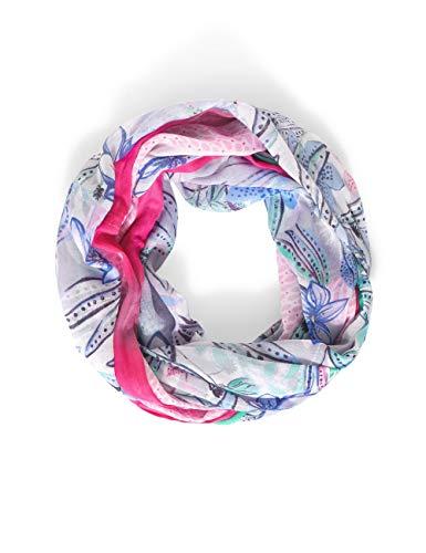 Street One Damen Loop Polyester Mode-Schal, Chalk Grey, A