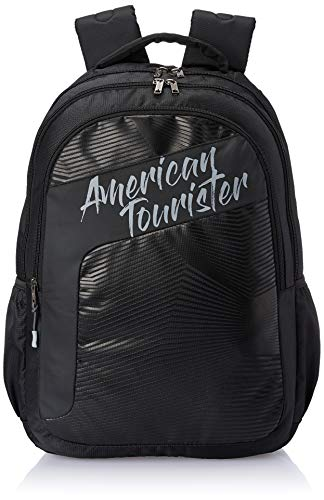 American Tourister Dazz 47 cms Black Casual Backpack (FU5 (0) 09 001)
