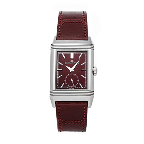 Jaeger-LeCoultre Reverso Mechanical (Hand-Winding) Burgundy Dial Watch Q397846J (Pre-Owned)