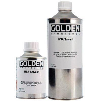 Golden Acryl Med 16 Oz Msa Solvent