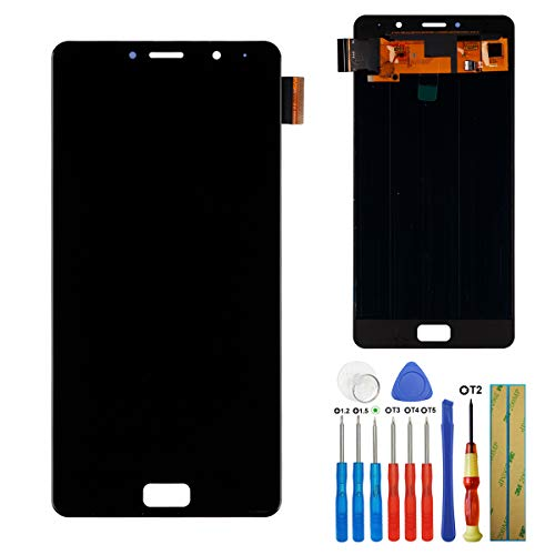 E-YIIVIIL Display compatibile con Lenovo P2 P2A42 5.5' Super AMOLED LCD Touch Screen Assembly with Tools(Nero)