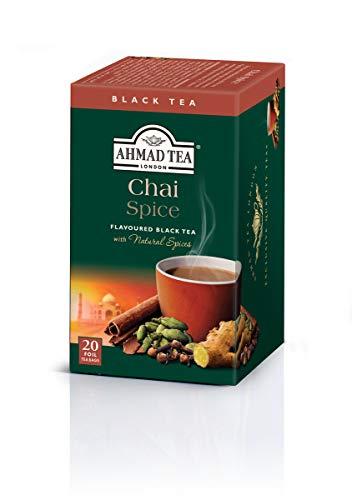 AHMAD TEA ( アーマッドティー ) チャイ スパイス ティーバッグ 20袋 ×3個 [ 英国ブランド 個包装 ]