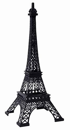 "Hosley 15"" Tall, Tabletop Iron Eiffel Tower Ideal Gift for Wedding, Home, Party Favor, Spa, Reiki, Meditation, Bathroom Settings P1"