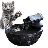 Haustier Wasserflaschen Katzen-Trinkbrunnen zum Trinken von besonders leiser Keramik Haustier-Wasserspender