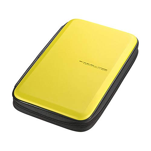 Jinzsnk Estuche para Almacenamiento de CD Caja CD de DVD 56 Capacidad de Almacenamiento Caja DVD VCD Monederos Organizador de Almacenamiento Flexible de protección de DVD Almacenamiento 30X17.5X5.5cm