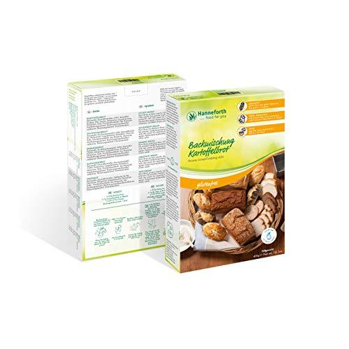 Glutenfreie Backmischung Kartoffelbrot | 6x400gr | Hanneforth