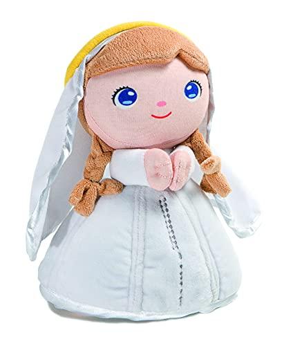 Peluche Virgen María -Jesusito de mi vida- 22 cm. Virgen de Fátima (Ref. 2002b)