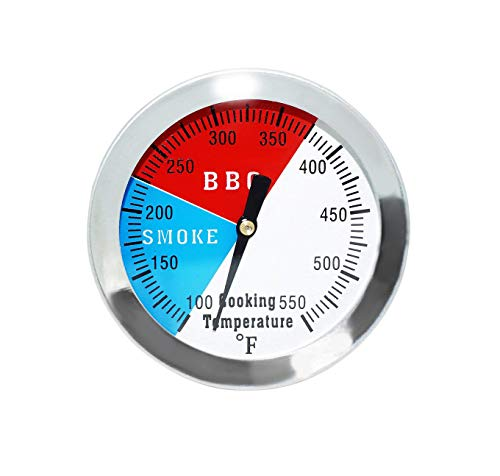 Bar.B.Q.S 8CM Kochen Essen Probe Fleisch Küche BBQ Temperatur Lesen Thermometer 7,62CM 1-PK Charcoal Smoker Temp Gauge 6,35CM STEM