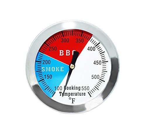 GFTIME 7,6cmTermómetros para Barbacoas y Ahumadores BBQ Termómetro Medidor de Temperatura Piezas de Repuesto Termómetro de Horno Parrilla Accesorios