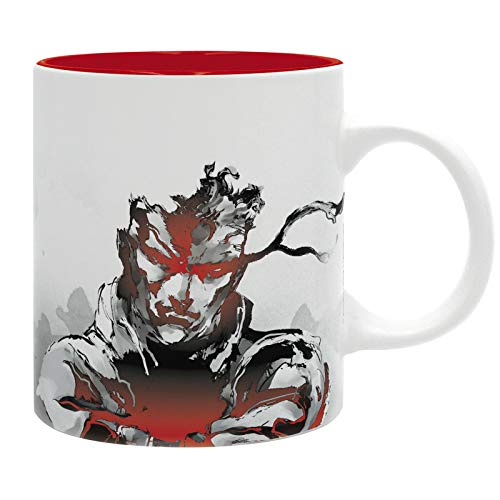 Metal Gear Solid Solid Snake Unisex Tasse Standard Keramik Fan-Merch, Gaming