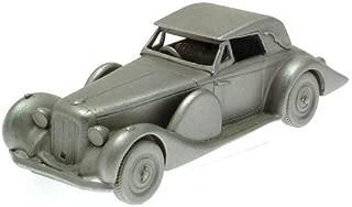 Danbury Mint authentic scale replica pewter car Lagonda V12 1939