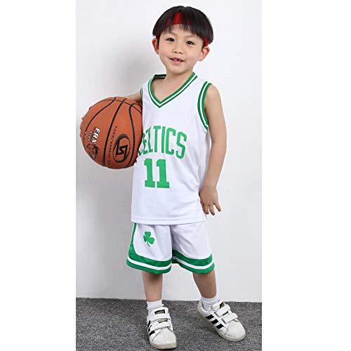 ZJFXSNEH Abbigliamento Sportivo NBA Bambini Divise da Basket Completi Uomini e Donne Scuola Materna Basket Divise della Squadra di Allenamento Maglie