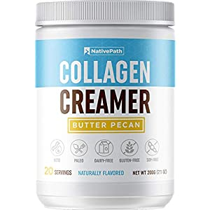 NativePath Collagen Coffee Creamer 20 Servings