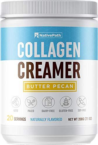 NativePath Collagen Coffee Creamer 20 Servings