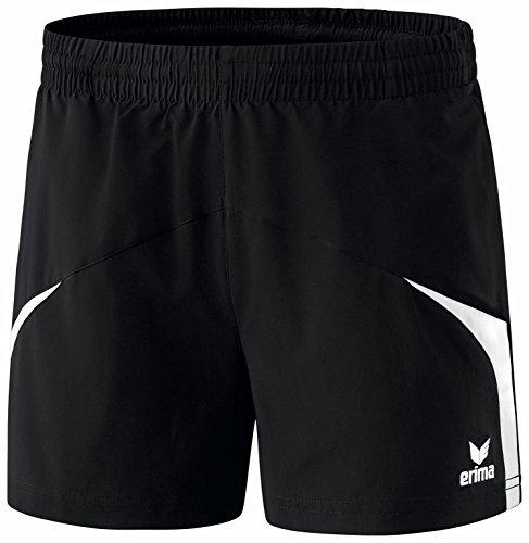 erima Damen Shorts Razor 2.0, Schwarz/Weiß, 44, 109615