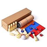 Juego de mesa 3 en 1 juego de bolos juego de mesa de juegos de familia para niños juguetes educativos para el hogar regalo de fiesta para niños y adultos