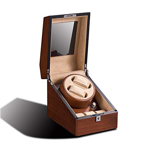 GW GJR-L versión Mejorada de la devanadera de Reloj, para Relojes automáticos, Soporte mecánico para Reloj, coctelera, enrollador automático, Soporte Giratorio, giradiscos