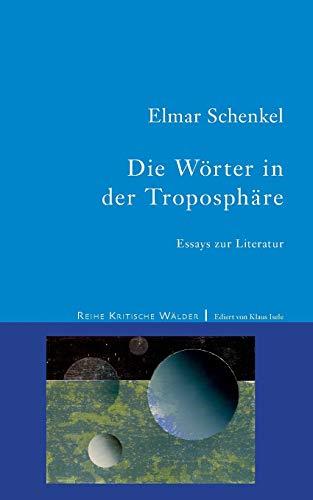 Die Wörter in der Troposphäre: Essays zur Literatur