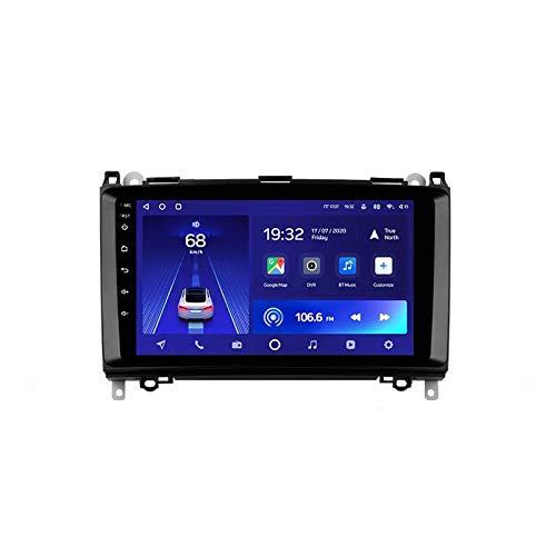 MIVPD Autoradio Android 10.0 Radio per Mercedes Benz Classe B / T245 2005-2011 Navigazione GPS unità Principale da 9 Pollici Touchscreen HD MP5 Lettore multimediale Video con WiFi DSP SWC Mirrorlink