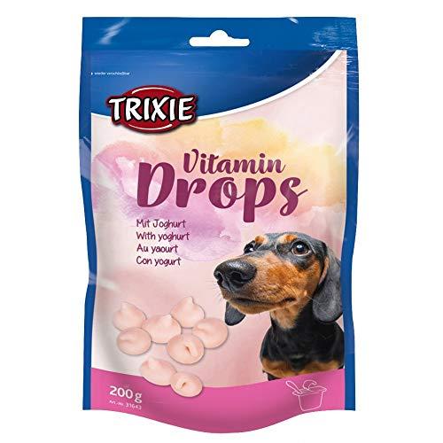TRIXIE Drops Vitaminados, Yogur, 200 g, Perro