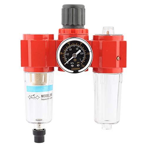 Regulador de filtro de aire de puerto G1 / 4'Fuente de aire Unidad de tratamiento de gas Válvula reguladora de presión de filtro con manómetro