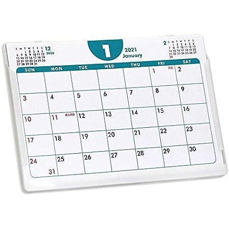 ポストカードサイズ卓上カレンダー(ポップカラー)