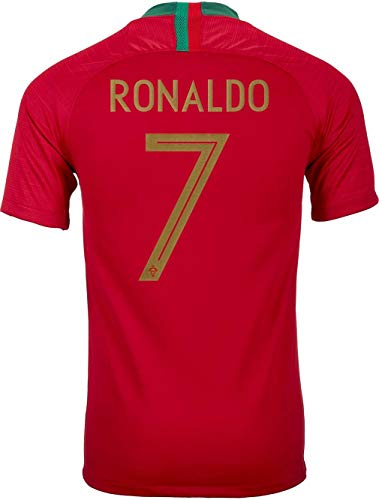 Nike 2018 Portugal Youth Home Jersey Ronaldo #7 Youth Extra Large