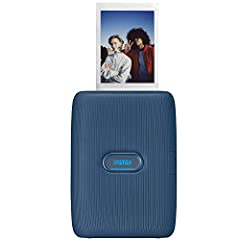 Print photos easily using the Instax Mini link app (free app download required) Bluetooth capability Add fun filters and frames to your photos Print photos from your videos. Supported image size: 800 × 600 dots Quick printing speed of about 12 second...