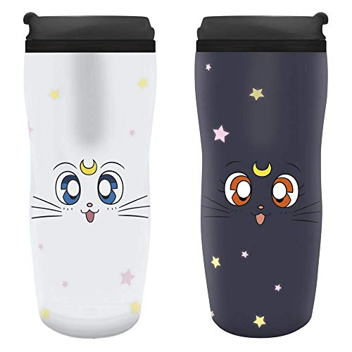 Sailor Moon - Luna & Artemis – Taza térmica | Producto oficial.