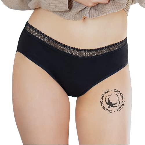 LIGNE V culotte menstruelle en coton biologique -...