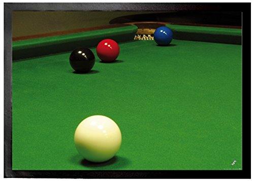 1art1 Billar, Snooker, Situación Libre De La Bola Felpudo Alfombra ...