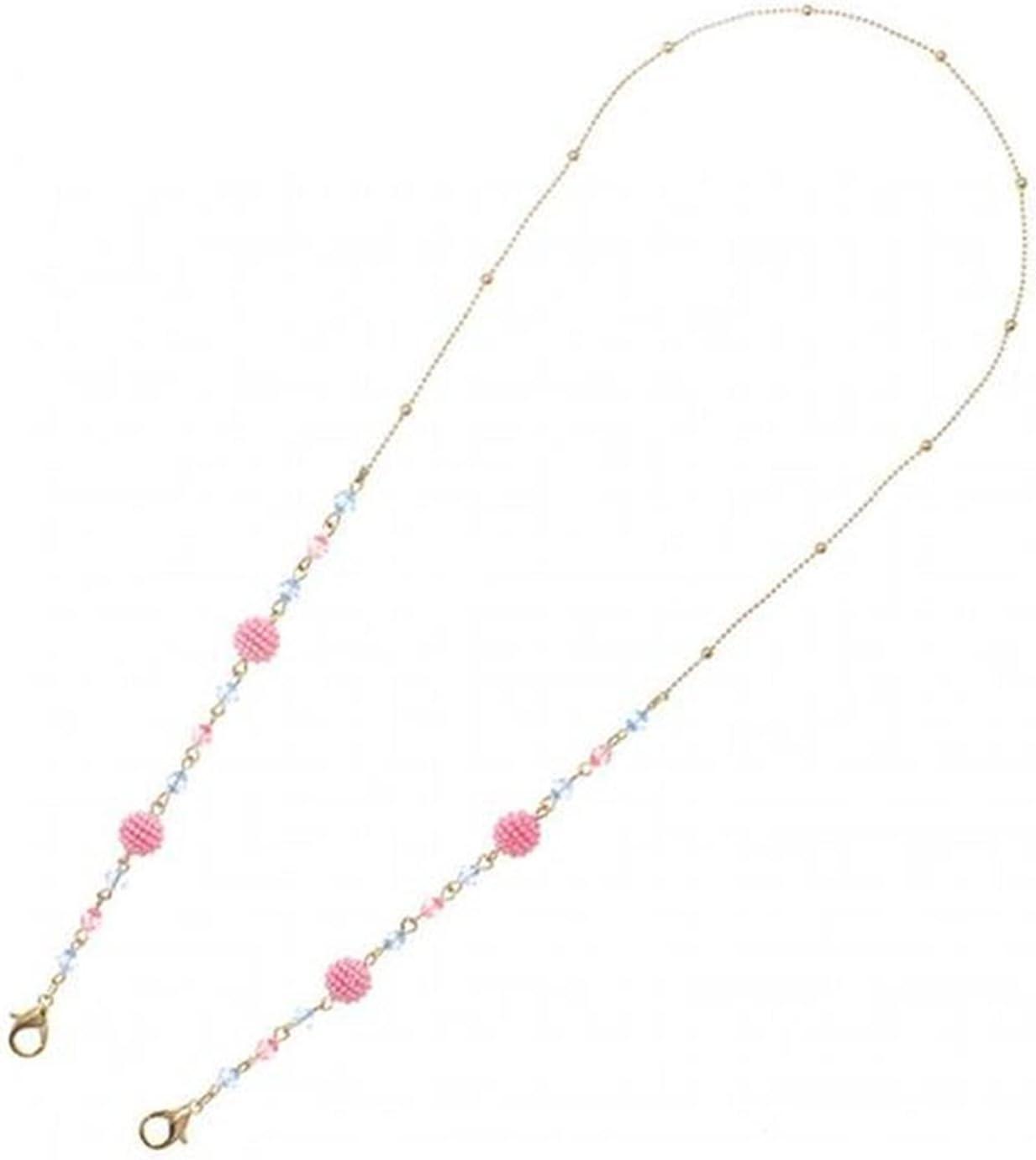 Women Men Eyeglass Cord Prevent Loss Eyewear Holder Neck Lanyard Neck Strap Rope Fashion Pearl Glasses Chain (Color : Gold)